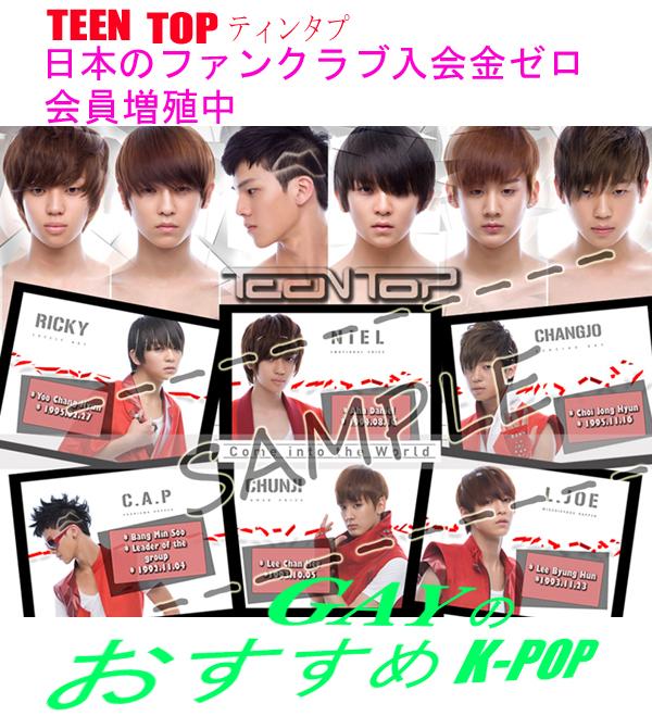 【奇形人形】TEEN TOP vol.1【Supa Luv】YouTube動画>11本 ->画像>221枚